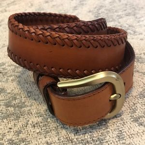 Bally leather belt sz 32